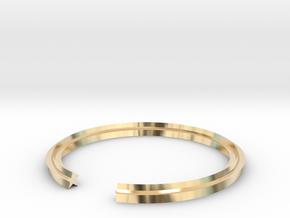 Star 16.92mm in 14k Gold Plated Brass