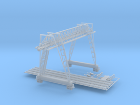 Logging Crane Z scale in Smooth Fine Detail Plastic
