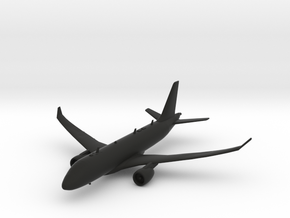 Airbus A220-100 in Black Natural Versatile Plastic