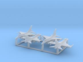 F-16C w/Gear x4 (FUD) in Smooth Fine Detail Plastic: 1:500