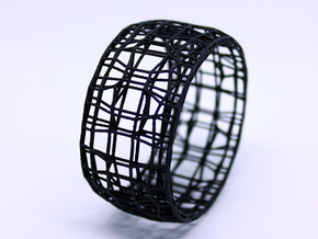 BRACELET WIRE in Black PA12