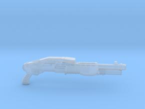 cyberpunk - near future shotgun in 1/6 scale in Smooth Fine Detail Plastic