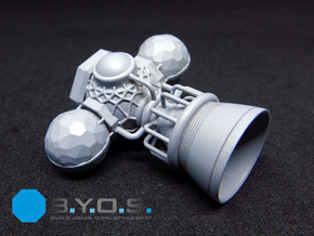 BYOS PART ENGINE SINGLE BELL in Smooth Fine Detail Plastic