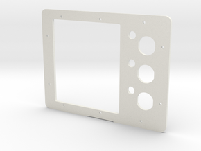 Pelican 1200 Battery Panel (AGC/MDL Fuse) in White Natural Versatile Plastic