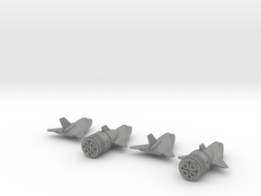 1/400 MIG SOVIET SPIRAL SPACE PLANE in Gray Professional Plastic