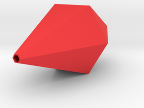 Plumbob for Headband in Red Processed Versatile Plastic