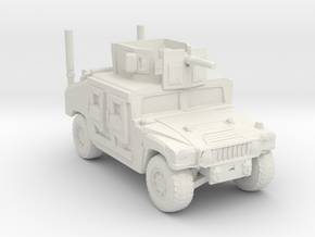 M1114 160 scale in White Natural Versatile Plastic
