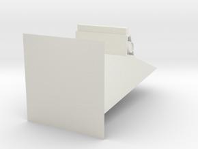 console2 in White Natural Versatile Plastic