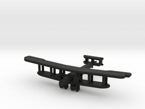 Handley Page Type O (British) UK in Black Premium Versatile Plastic