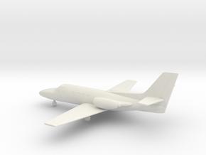Cessna 500 Citation I in White Natural Versatile Plastic: 1:100