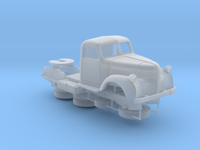 Dodge semi tractor - 1940 - Ho in Smooth Fine Detail Plastic
