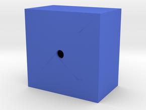 Paralelepipede in Blue Processed Versatile Plastic