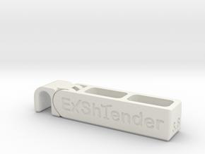 Exshtender v3.8 in White Natural Versatile Plastic