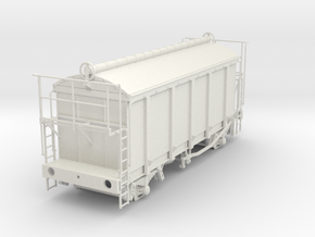 7mm PRA China clay wagon in White Natural Versatile Plastic