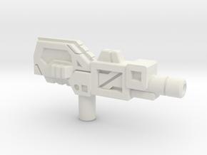 Octopunch's Acetylene Torch Gun, 5mm in White Natural Versatile Plastic