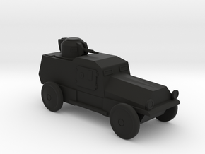 AV843 Armored Car in Black Natural Versatile Plastic
