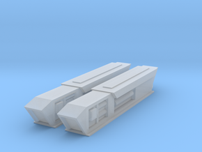 2500 Pointy-Eared Adversary Nacelles 2 in Smooth Fine Detail Plastic
