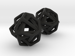 Chaos Sphere in Black Natural Versatile Plastic