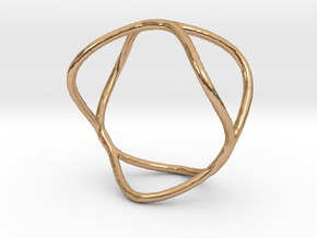 Ring 09 in Polished Bronze