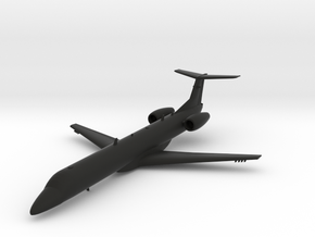 Embraer ERJ145ER in Black Natural Versatile Plastic