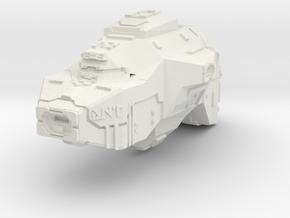 Dervish Multi Beam Frigate (WIP) in White Natural Versatile Plastic