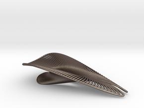 Splendor Solis - Bottle Opener - Wireframe in Polished Bronzed-Silver Steel
