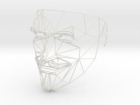 Identity/Anonimity in White Natural Versatile Plastic