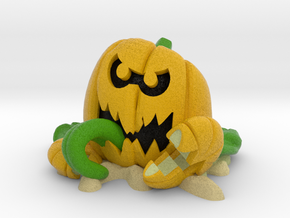 Splat-O-Lantern in Natural Full Color Sandstone: Medium