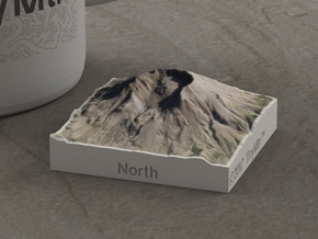 Mt. St. Helens, Wash., USA, 1:150000 Explorer in Full Color Sandstone