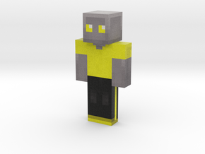 metal_duck | Minecraft toy in Natural Full Color Sandstone