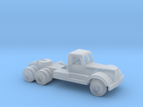 1/200 Scale Diamond T Tractor in Smooth Fine Detail Plastic