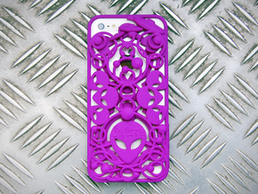 EBE iPhone 5 Cover in Purple Strong & Flexible Polished