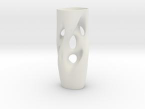 Vase 2125JV in White Natural Versatile Plastic