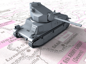 1/56 French SARL 42 Tank (75mm SA44 Gun) in Smooth Fine Detail Plastic