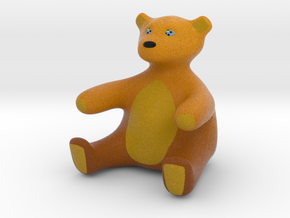 hikerbear (Pappa) in Natural Full Color Sandstone
