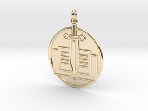 History Symbol in 14K Yellow Gold