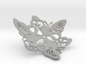 Butterfly Bowl 1 - d=12cm in Aluminum