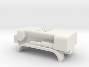 1/87 Scale M919 Concrete Mixer Kit in White Natural Versatile Plastic