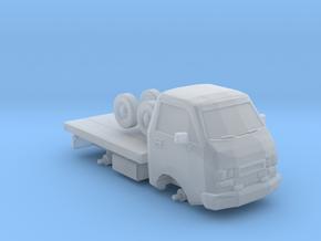 1/87 Scale Junkyard Mini Truck in Smooth Fine Detail Plastic