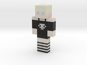 Ajisai_Rain | Minecraft toy in Natural Full Color Sandstone