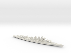 UK BC Hood [KGV Style 1942 Refit] in White Natural Versatile Plastic: 1:1200