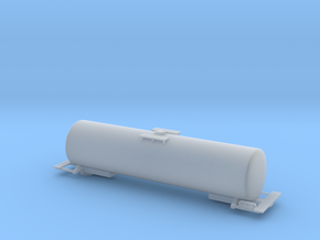 Tank Car - 48 foot - Zscale in Smooth Fine Detail Plastic