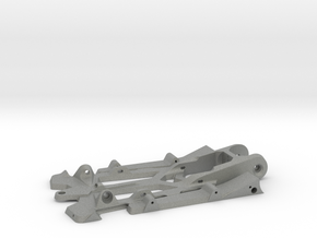 "888sr xl - 1/24 racer chassis 4.5"" wb in Gray Professional Plastic"