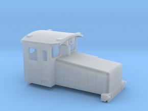 Swedish SJ electric locomotive type Za - N-scale in Smooth Fine Detail Plastic