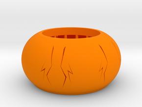 pumkincandleholder in Orange Processed Versatile Plastic
