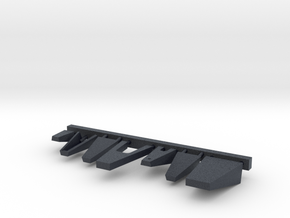 1/144 scale Burke Class Bridge Platforms in Black Professional Plastic