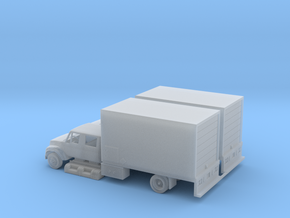 N Dual Cab Boxtruck in Smooth Fine Detail Plastic