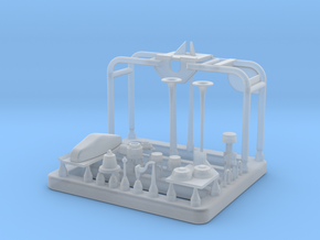 CB90H_Main_Mast_Antenna_Array in Smoothest Fine Detail Plastic