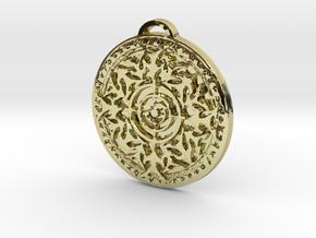 Hunter Class Medallion in 18K Yellow Gold