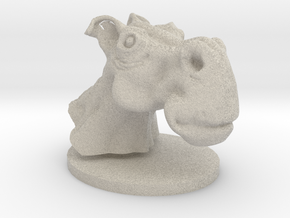 Horse head toon in Natural Sandstone